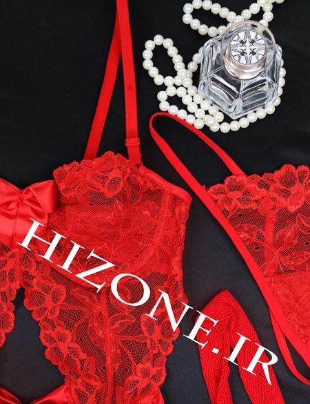 کاستوم-لباس-خواب-رنگ-قرمز