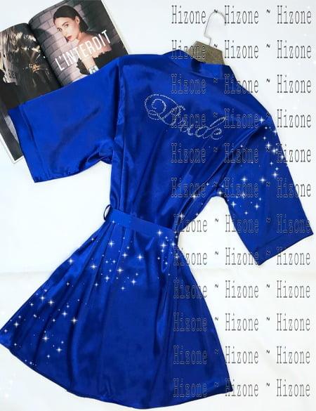 روبدوشامبر مدل ناتالی پورتمن BLUE