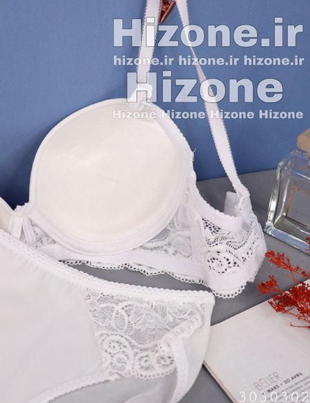 ست لباس زیر اسفنجی مدل دالاس (سفید)