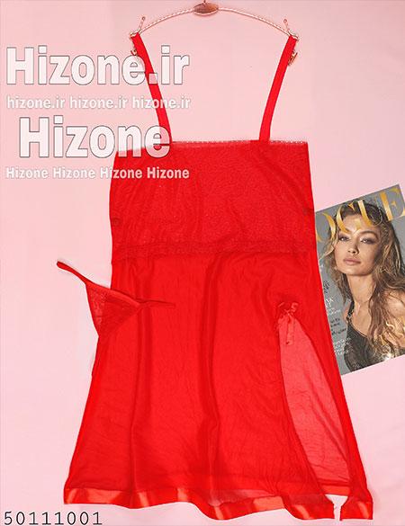 ست لباس خواب زنانه مدل شهلا (قرمز)