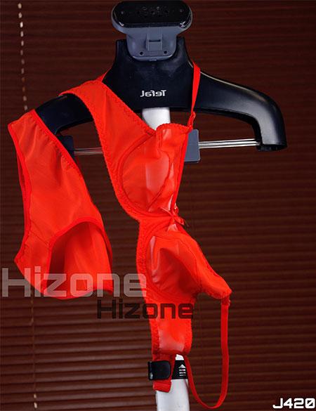 ست لباس زیر مدل رنگارنگ (قرمز)