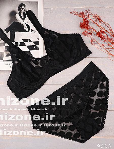 ست لباس زیر مدل مکزیکو (مشکی)