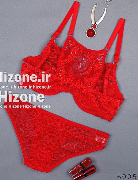 Untitled 4 - ست لباس زیر زنانه مدل لیلیوم (قرمز)