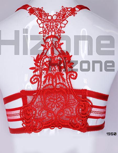 ست لباس زیر اسفنجی مدل آتریسا (قرمز)