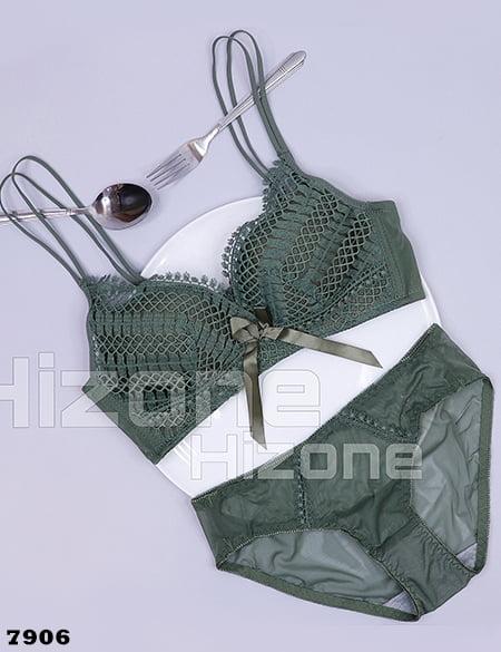 ست لباس زیر اسفنجی مدل ماریچی (سبز)